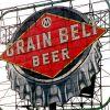 Grain Belt beer sign, Minneapolis, Minnesota, 2000.