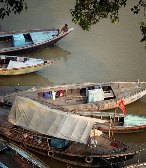 Ganges River, Varanasi, 2005.