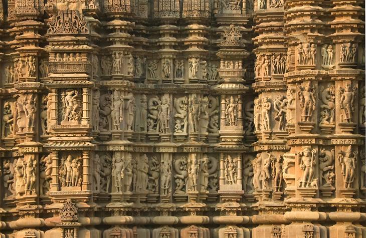 Temple detail, Khajuharo, 2005.