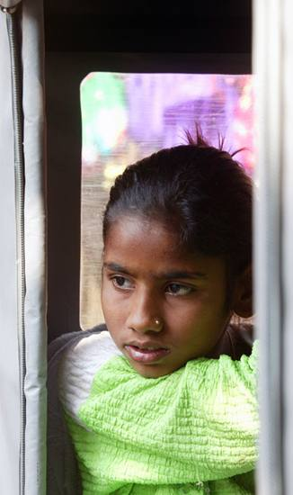 Girl near Amber, 2005.
