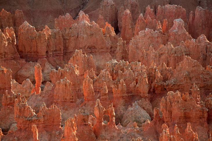 Bryce Canyon hoodoos, Utah, 2005.