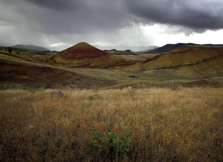 Painted Hills, Oregon, 2006.