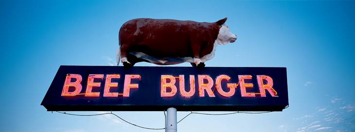 Beef Burger, Amarillo, Texas, 2001.