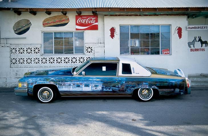 Airbrushed Cadillac, Chimayo, New Mexico, 2001.