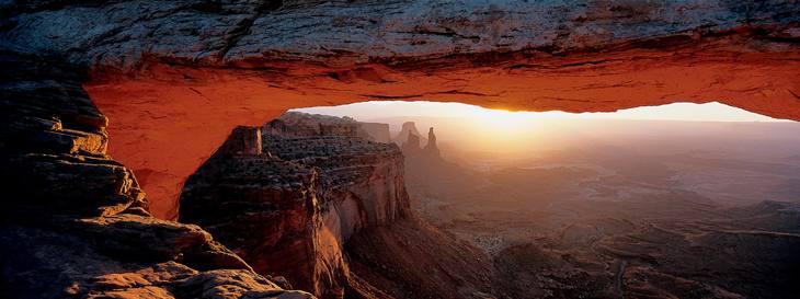 Mesa Arch, Canyonlands National Park, Utah, 2001.