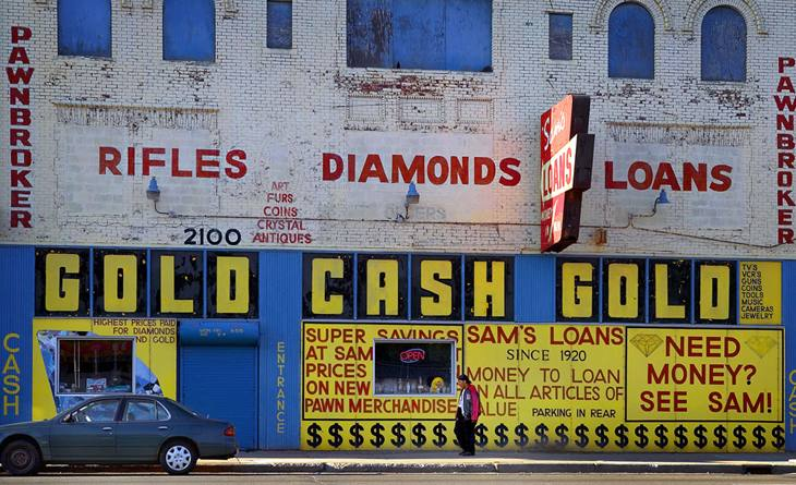 Sam's Pawn Shop, Detroit, 2005.