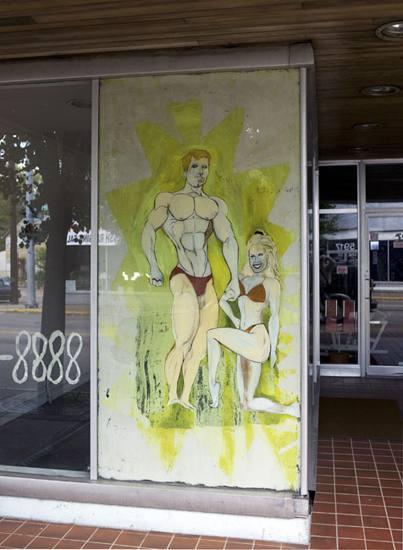 Window sign, Elmwood Place, 2010.