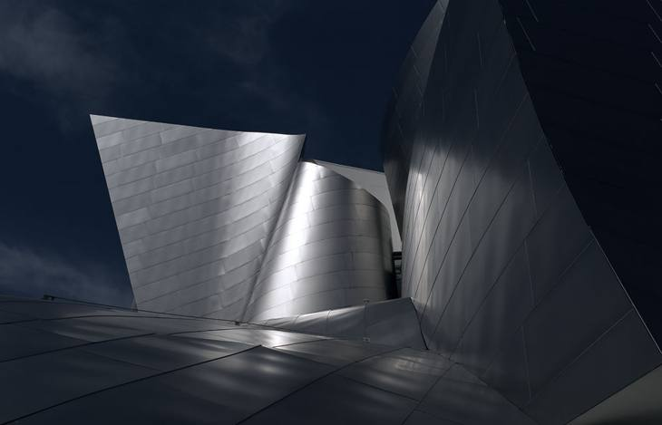 Disney Hall, Los Angeles, 2010.