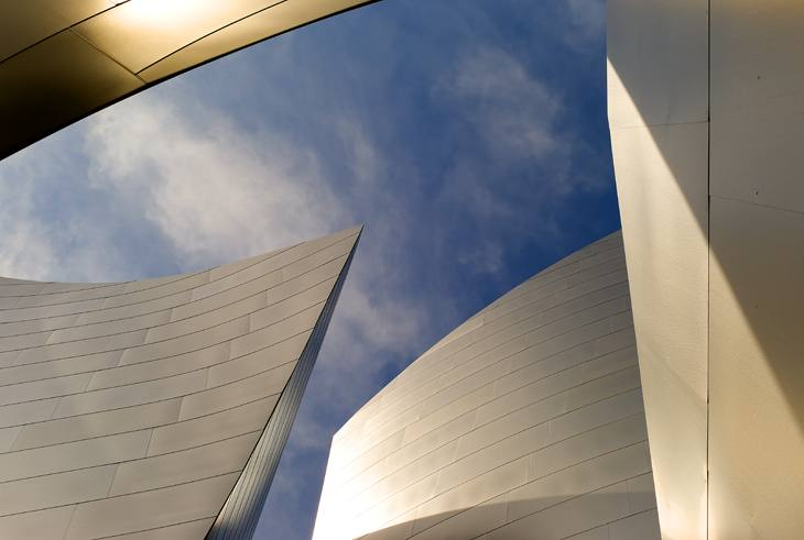 Disney Hall, Los Angeles, 2007.