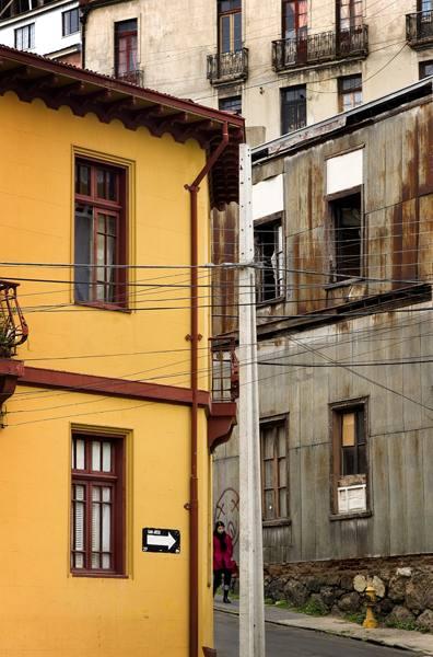 Street, Valparaiso, Chile, 2007.