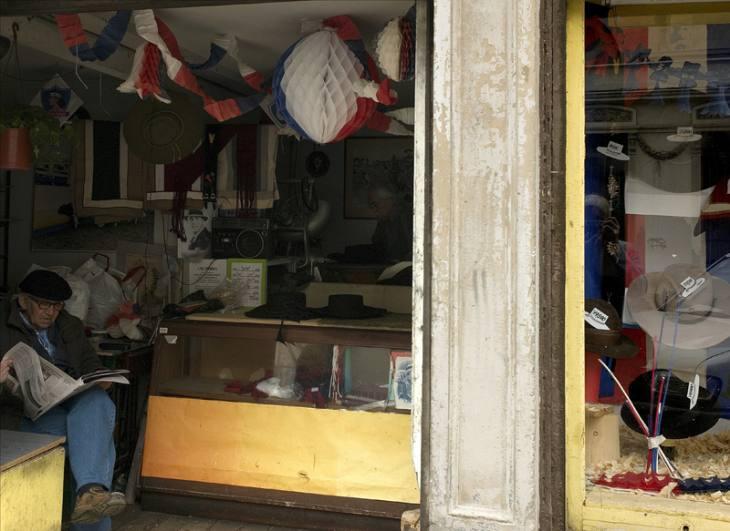 Hat shop, Valparaiso, 2007.
