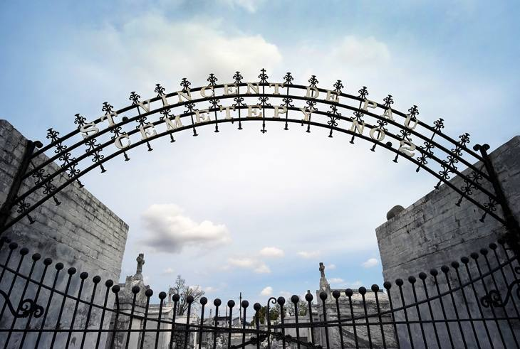 St. Vincent Cemetery No. 2, New Orleans, Louisiana, 2007.