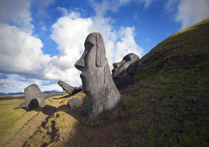 Moai, Easter Island, 2007.