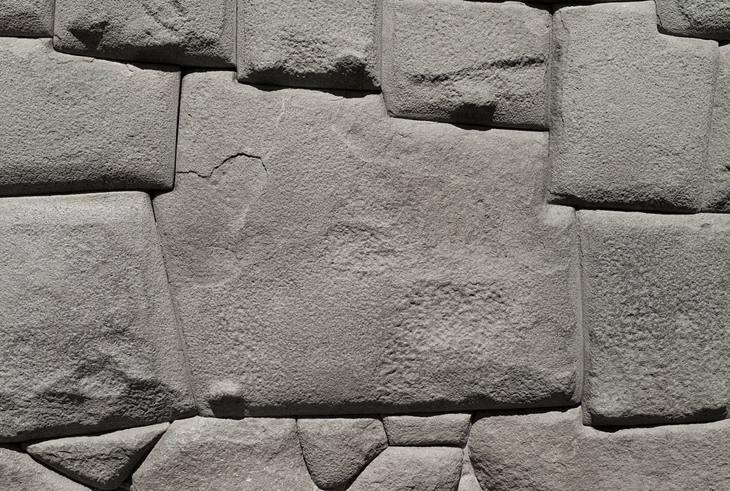 Inca stone work, Cusco, Peru, 2007.