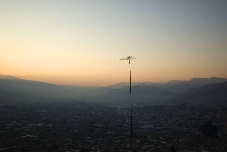 Early morning, Cusco, Peru, 2007.