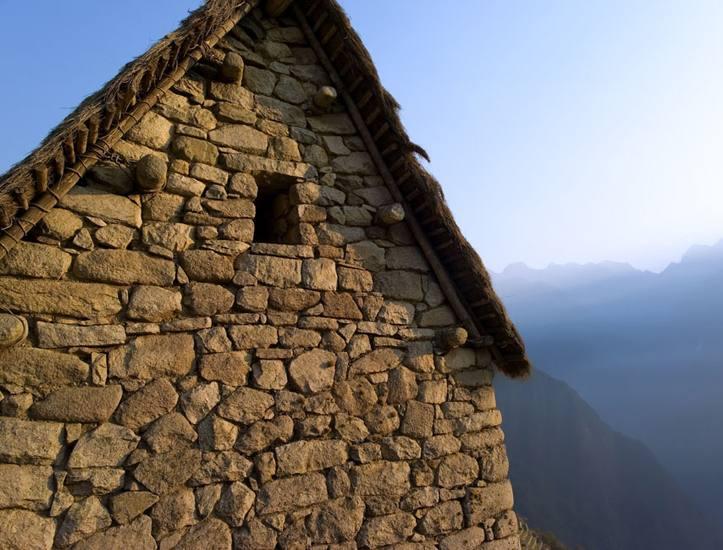 Watchman's hut, Machu Picchu, Peru, 2007.