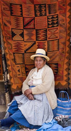 Market, Pisac, Peru, 2007.