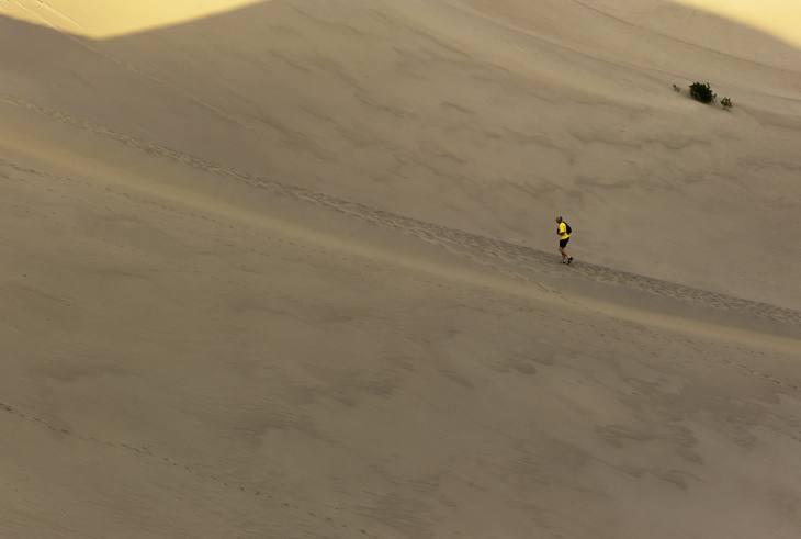 Dunes, Death Valley, California, 2008.
