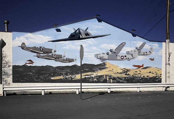 Mural, Tonopah, Nevada, 2008.
