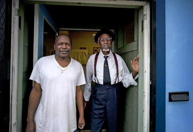 Two men, Portland, 2009.