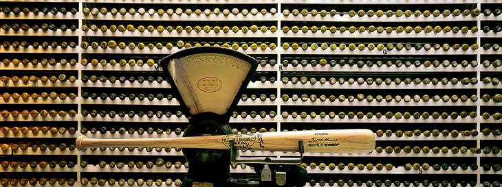 Ted Williams' bat, Louisville, Kentucky, 2001.