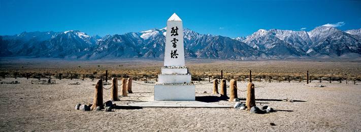 Cemetery, Manzanar, California, 2001.