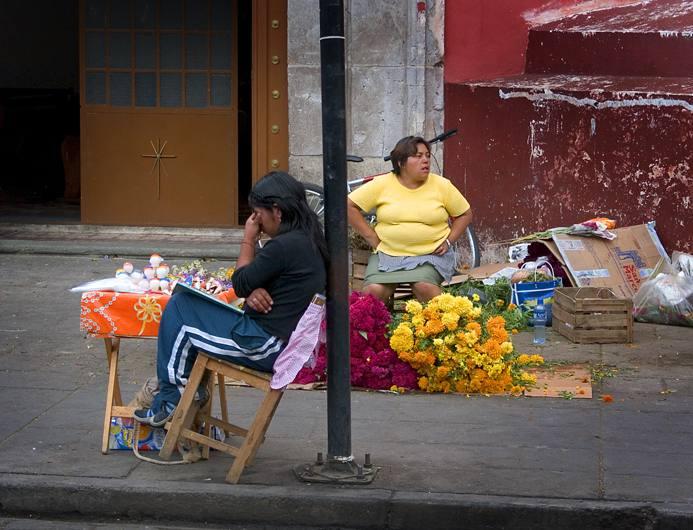 Streetscene, Oaxaca, 2004.
