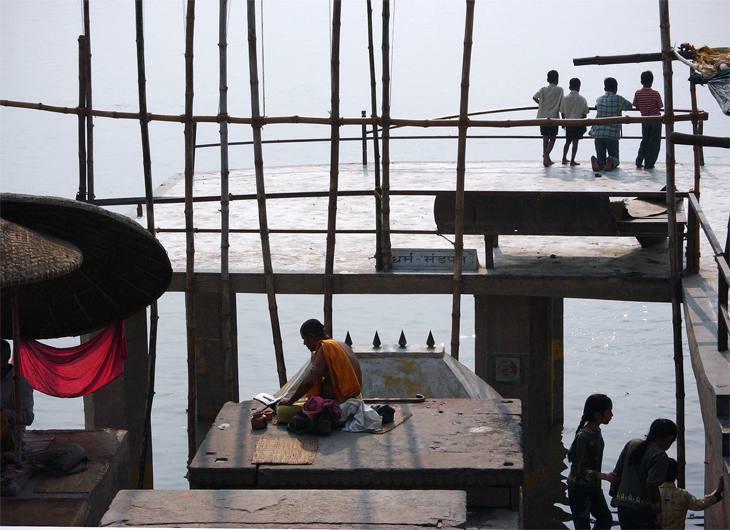 Along the Ganges, Varanasi, India, 2005.