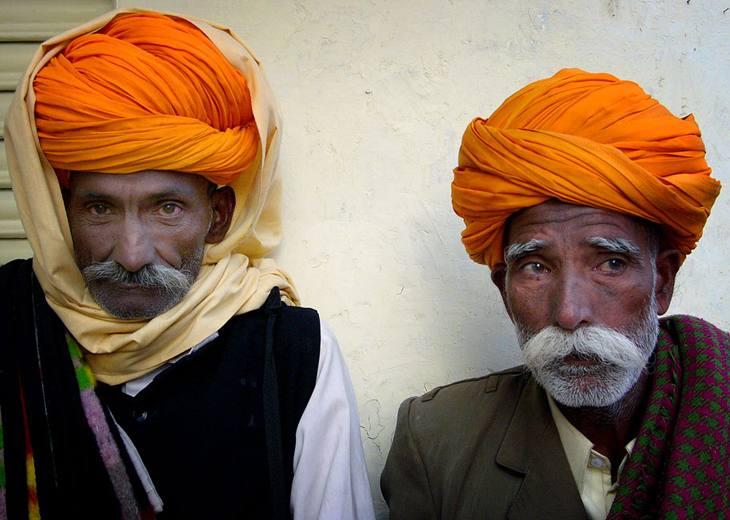 Visitors, Pushkar Camel Fair, 2005.