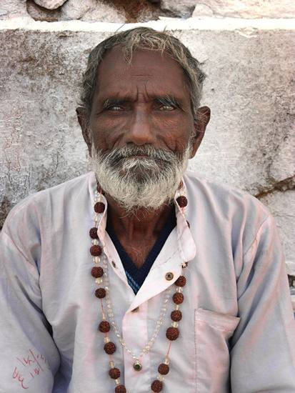 Man on street, Pushkar, 2005.