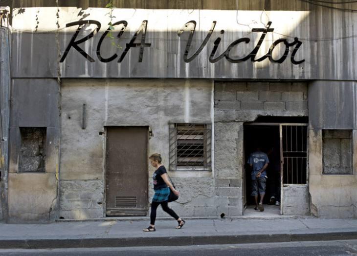 Pre-Revolution RCA Victor shop, Centro, Havana.