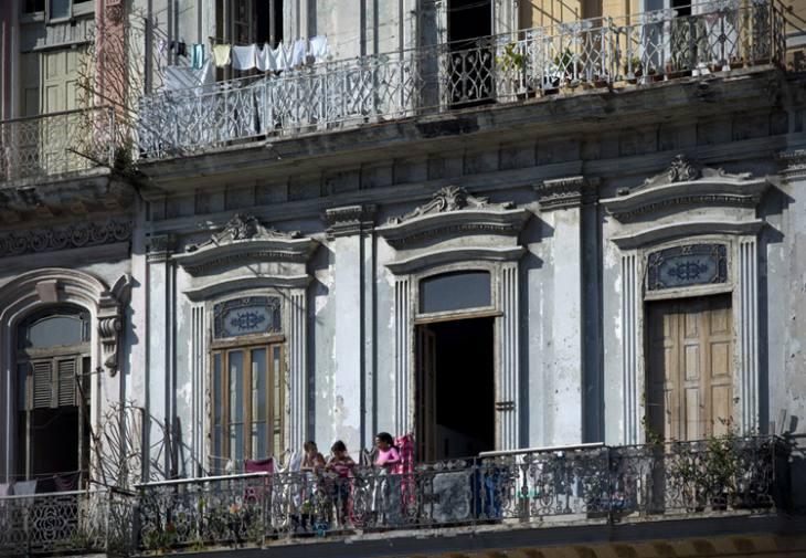 Balconies, Centro, Havana.