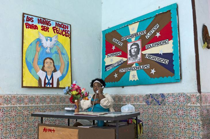School office, Habana Vieja.