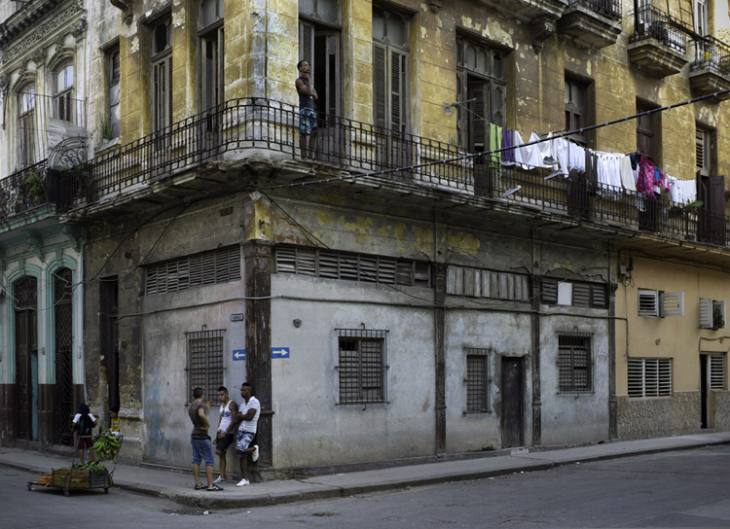 Corner, Industria and Animas, Centro, Havana.