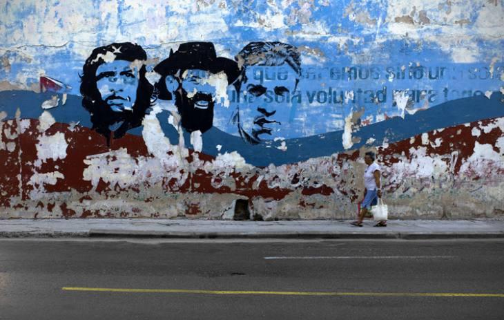 Mural on San Lazaro, Centro, Havana.