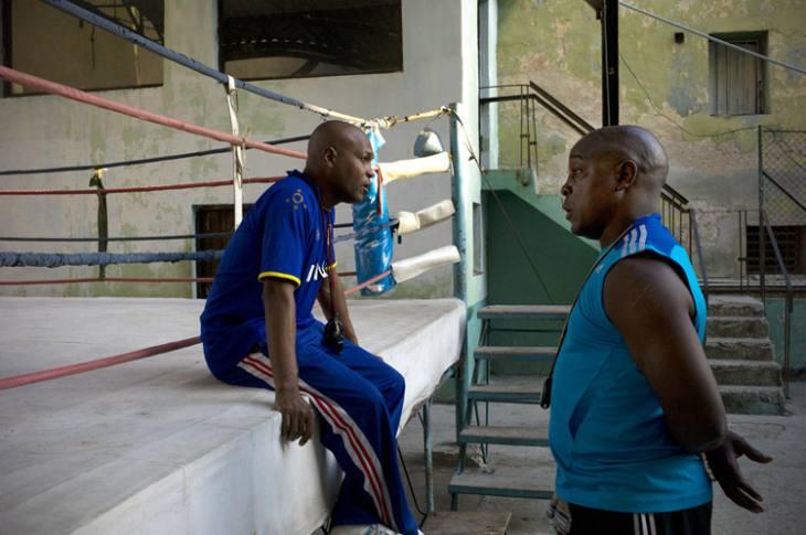 Coaches, Rafael Trejo Boxing Gym, Calle Cuba, Habana Vieja.