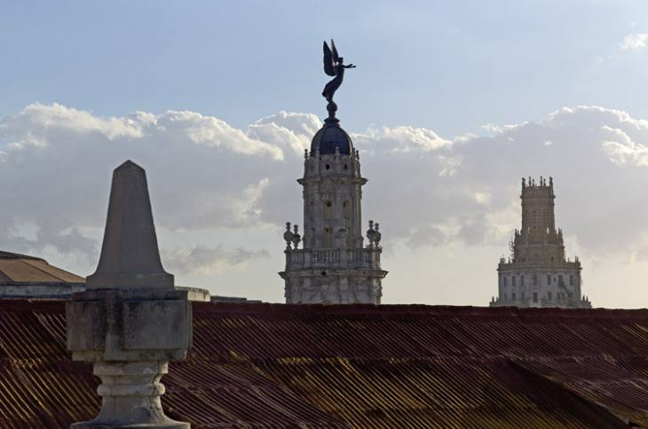 Rooftop view of Centro Havana.