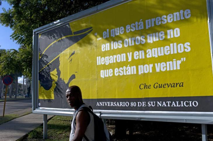 Billboard, Vedado, Havana.