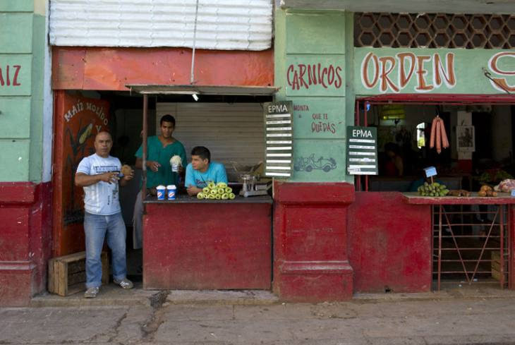 Food stall, Centro Havana.